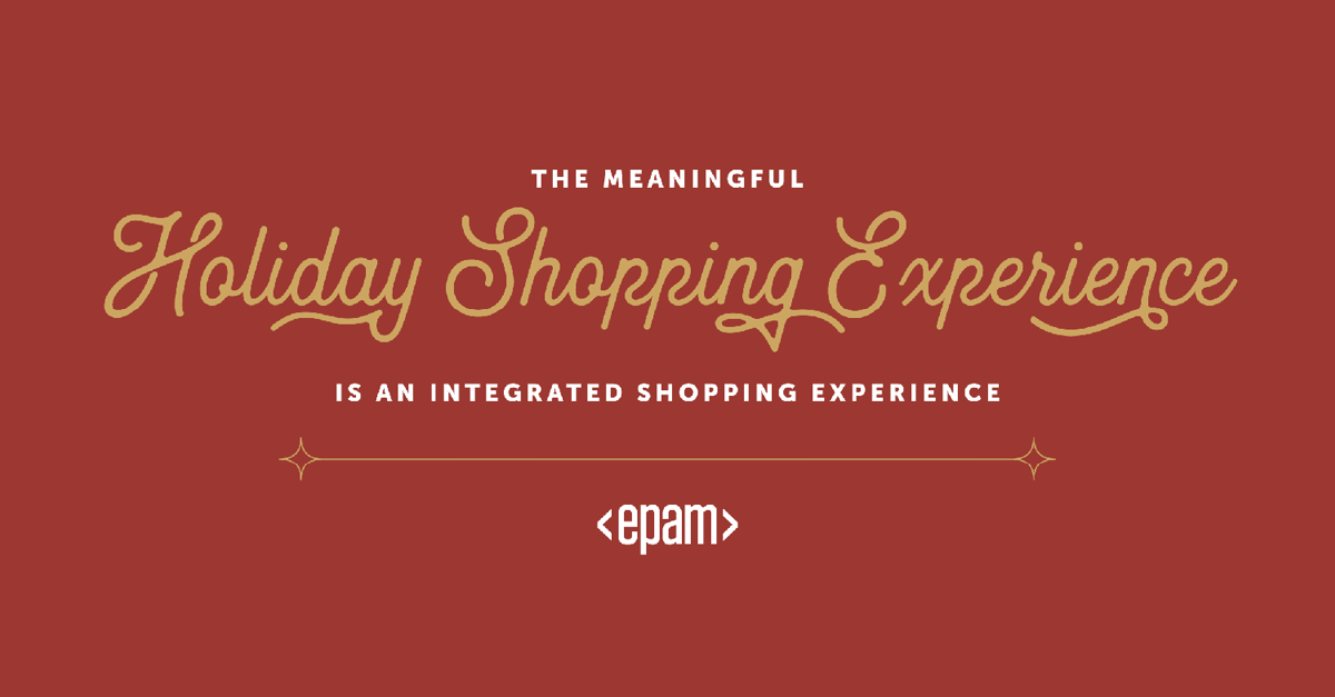 The Meaningful Holiday Shopping Experience
