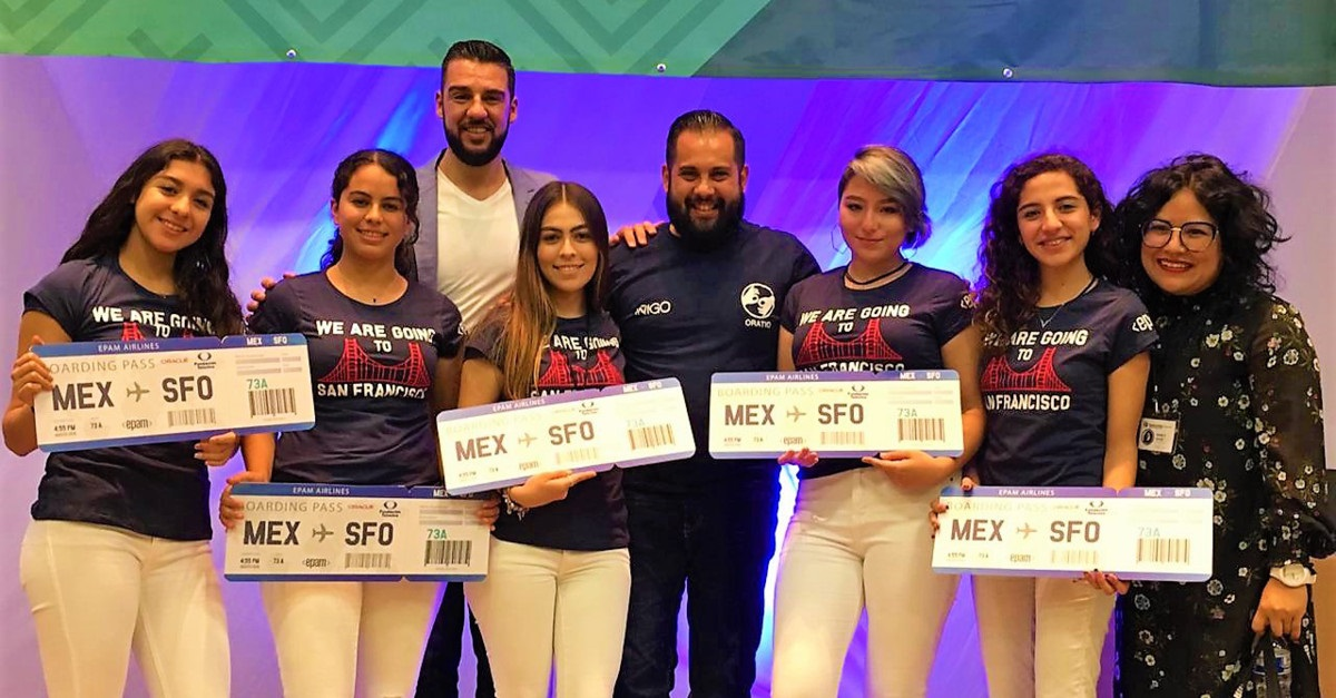 EPAM Mexico Sponsors Technovation 2019