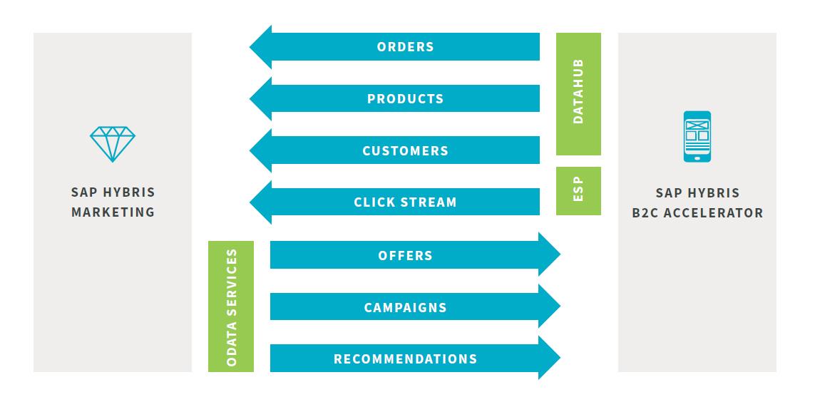 SAP Hybris Marketing + Commerce Connector