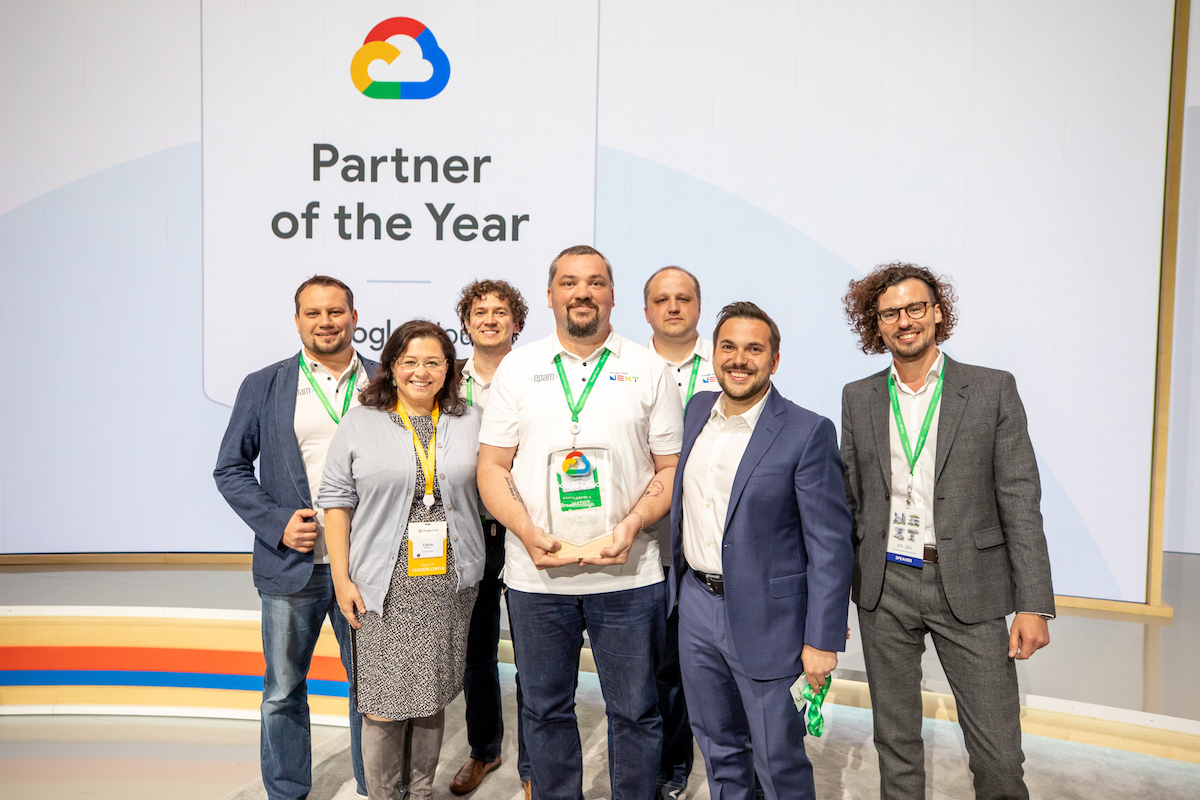 EPAM Wins Google Cloud NA Breakthrough Partner of the Year Award